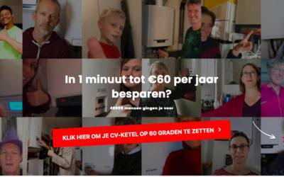 HeemSteeds Duurzamer winnaar Zet hem op 60 actie Urgenda!
